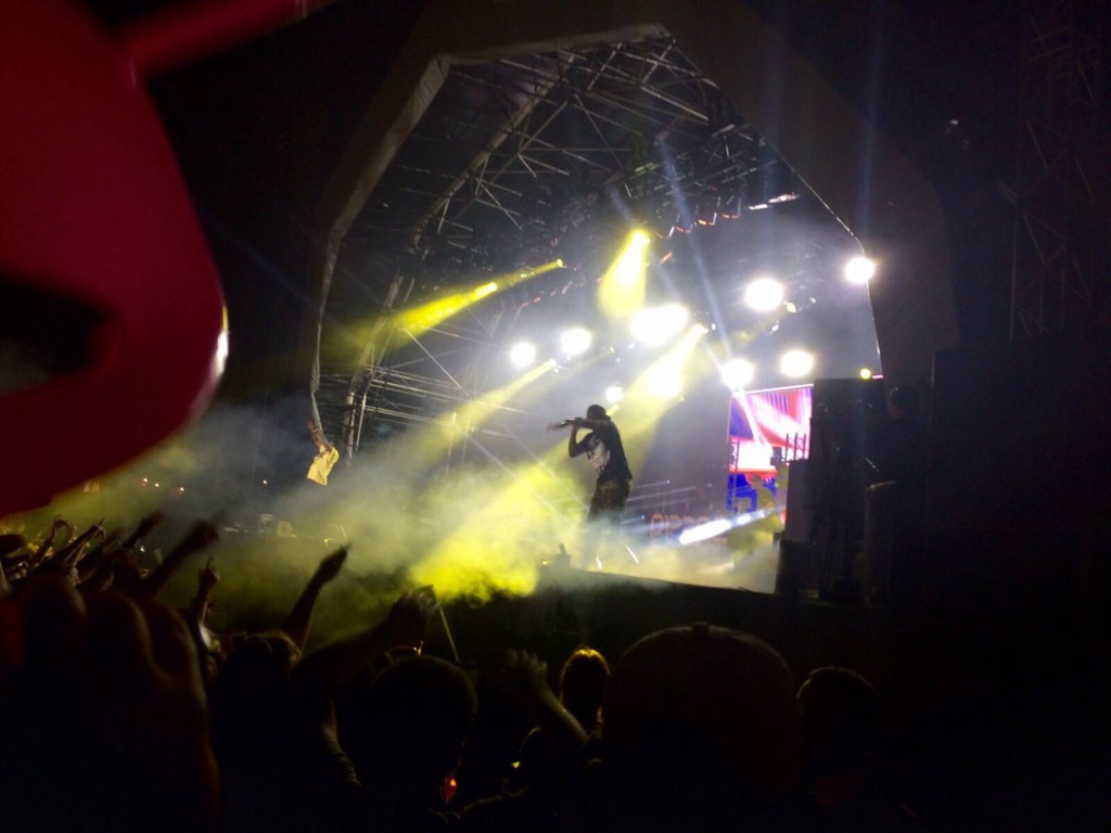 Dizzee closing the Saturday night