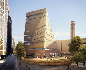 How the new extension to the Tate Modern will look.
