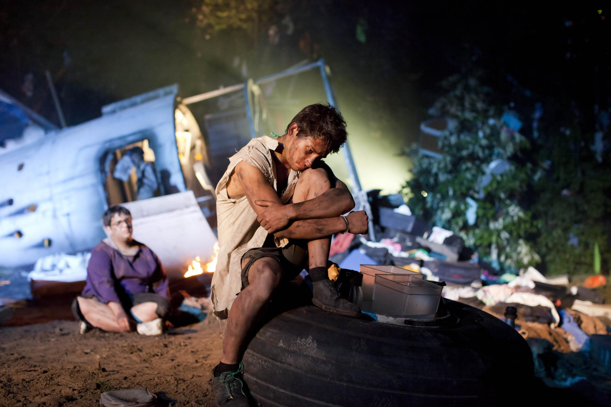 review lord of the flies at the flower theatre
