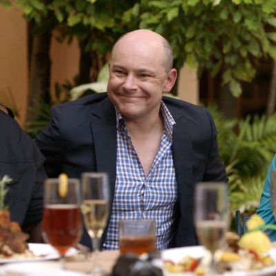 Rob Corddry plays Johnson's boss and provides the comical element to the programme
