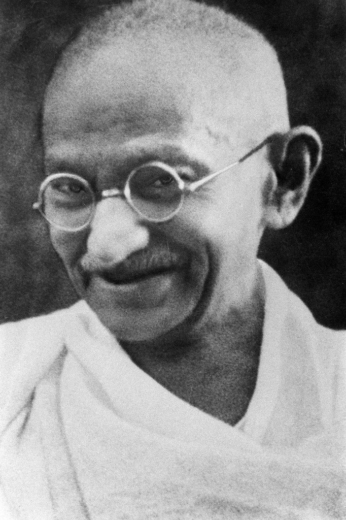 This is Ghandi. Just...just in case you weren't sure