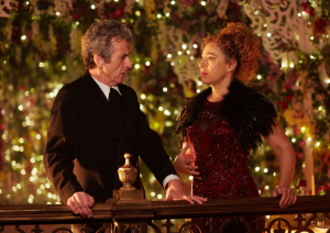 Peter Capaldi and Alex Kingston are enigmatic as the Doctor and River