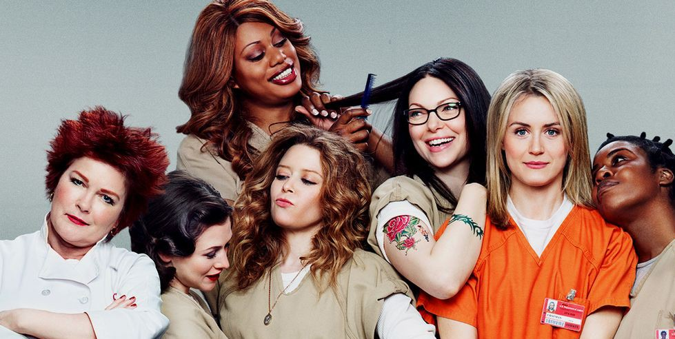orange is the new black cast rob santa claus in christmas parody watch - Black Christmas Cast