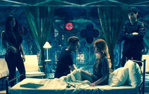 Clary wakes up at the Institute, surrounded with Shadowhunters