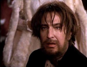 Rickman as Rasputin
