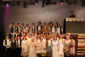 The cast of 'Fiddler on the Roof'