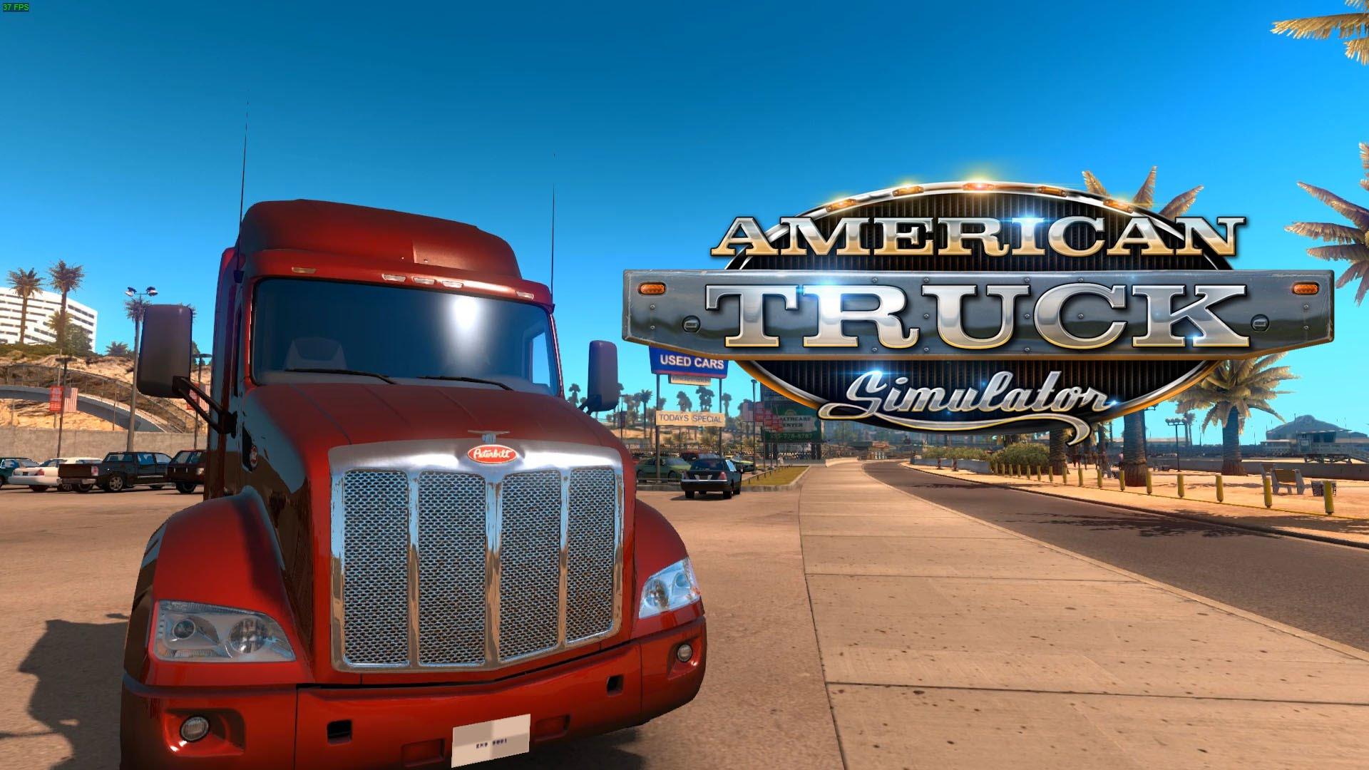 review american truck simulator. Black Bedroom Furniture Sets. Home Design Ideas