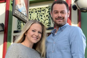 Danny Dyer and Kellie Bright have been praised for their performances as Mick and Linda Carter, based on Dom's own parents