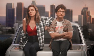 Mickey (Gillian Jacobs) and Gus (Paul Rust) seem an unlikely couple