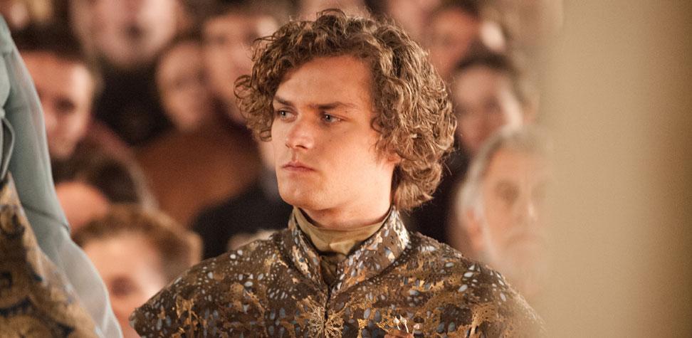 Finn Jones as Loras Tyrell in Game of Thrones