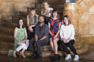 (L - R) Genevieve Clay-Smith, Hazel Annikki Savolainen, Anya Beyersdorf, Brooke Goldfinch, Lucy Gaffy