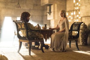 More like this please! Will Daenerys (Emilia Clarke) and Tyrion (Peter Dinklage) find each other again?
