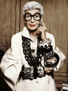 At 94 years old, she is still inspiring and amazing the world of fashion with her unique and quirky taste, and her innate understanding of 'style'