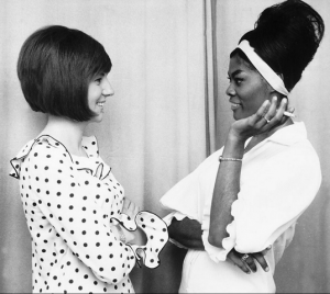 The real Cilla and Dionne. (Image via Showbiz411)