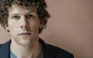 Jesse Eisenberg's lack of car experience was humourous [Image from New Statesman]