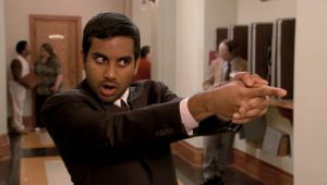 Tom Haverford (Aziz Ansari) grew from a misogynist to loveable guy. [Image from Thought Catalog]