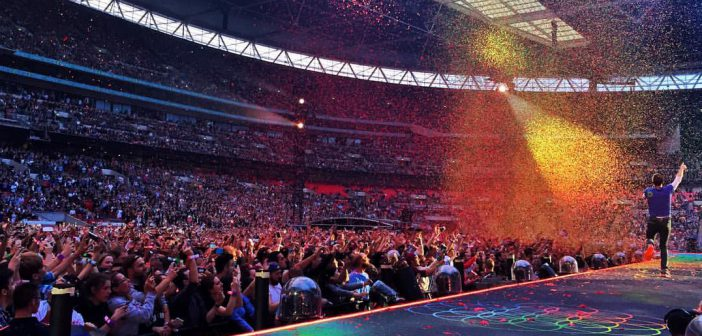 Coldplay at Wembley Stadium