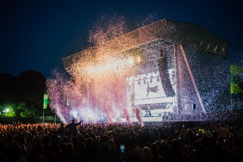 Duran Duran's Confetti at Common People 2016