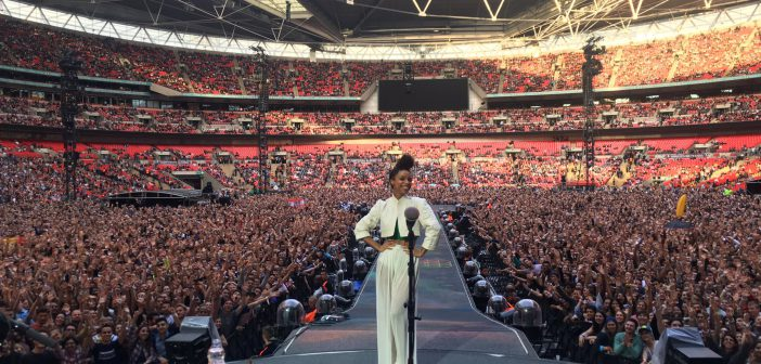 Lianne La Havas at Wembley Stadium