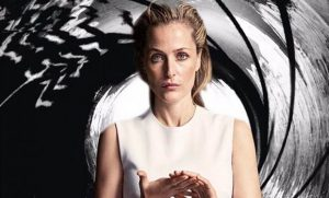 Image via radiotimes.com. Gillian Anderson as James Bond.