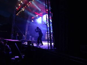Dizzee Rascal at Blissfields. Image credit: Charlie Butler.