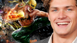 Finn Jones as Iron Fist