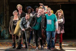 American Idiot: the Musical cast (via Chroniclelive.co.uk)