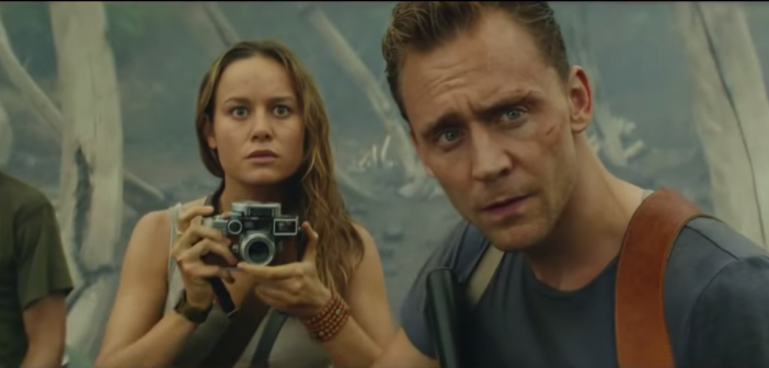 Tom Hiddleston and Brie Larson star in the first trailer for Kong: Skull Island – Watch