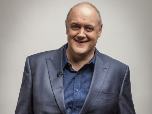 Host Dara O'Briain [Image via the Independent].