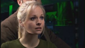 Georgia Moffett, David Tennant's future wife, in Doctor Who. [Image via fanpop.com]