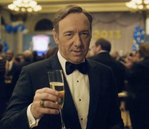 Kevin Spacey as Frank Underwood in House of Cards. Image via broadwayworld.com