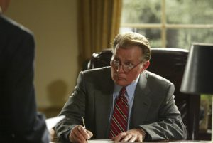 Martin Sheen as President Jed Bartlet. [Image via time.com]