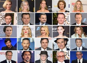 The acting and directing nominees at this year's Oscars. image via ibtimes.com