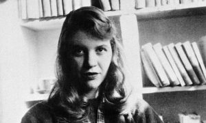 The Bell Jar is loosely based on Plath's own life. Image via theguardian.com