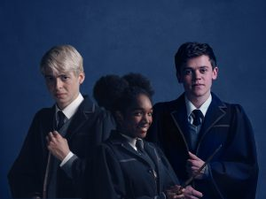 Scorpius, Rose and Albus [Image via Palace Theatre].