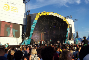 Kaiser Chiefs on the Boardmasters Main Stage [Image via West Briton].
