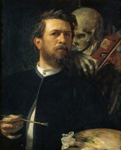 Self Portrait (18720 by Arnold Böcklin - Image via Wikipedia