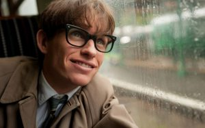 Eddie Redmayne as Stephen Hawking in 'The Theory of Everything'. Image via telegraph.co.uk
