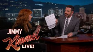 Image via Jimmy Kimmel YouTube