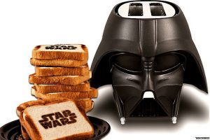 Yes, that is Star Wars toast... (image courtesy of toywiz.com).