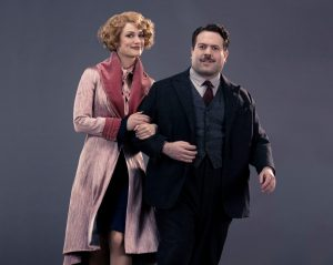 Alison Sudol and Dan Fogler steal the show. [Credit: Warner Bros.]
