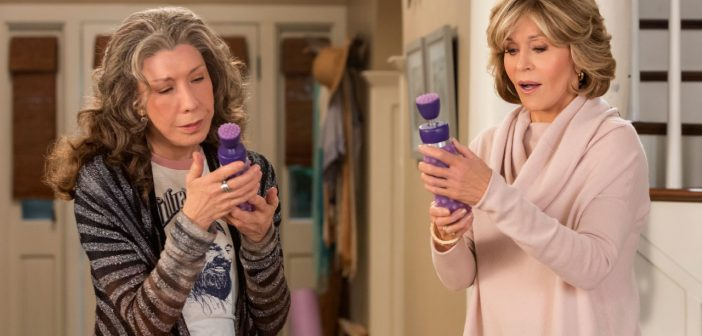 Review: Grace & Frankie (Season 3, Episode 1)