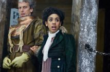 Mackie and Capaldi as Bill and the Doctor (BBC)