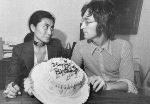 Yoko and John in 1971