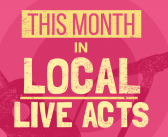 This Month in Local Live Acts: September