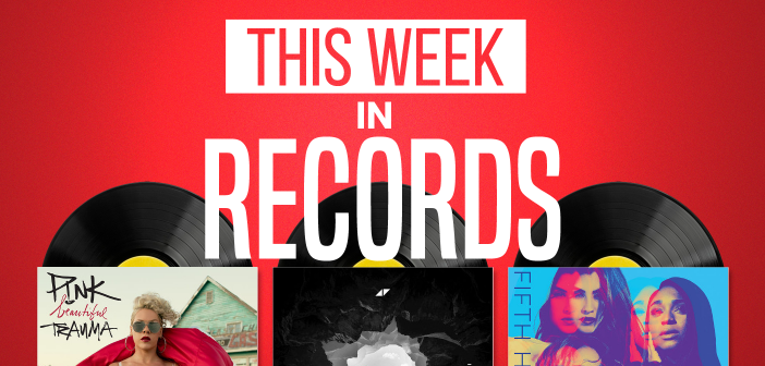 This Week In Records: P!nk, Avicii & Fifth Harmony (11/08/17)