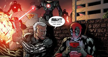 Ryan Reynolds teases Deadpool 2 with Cable photo