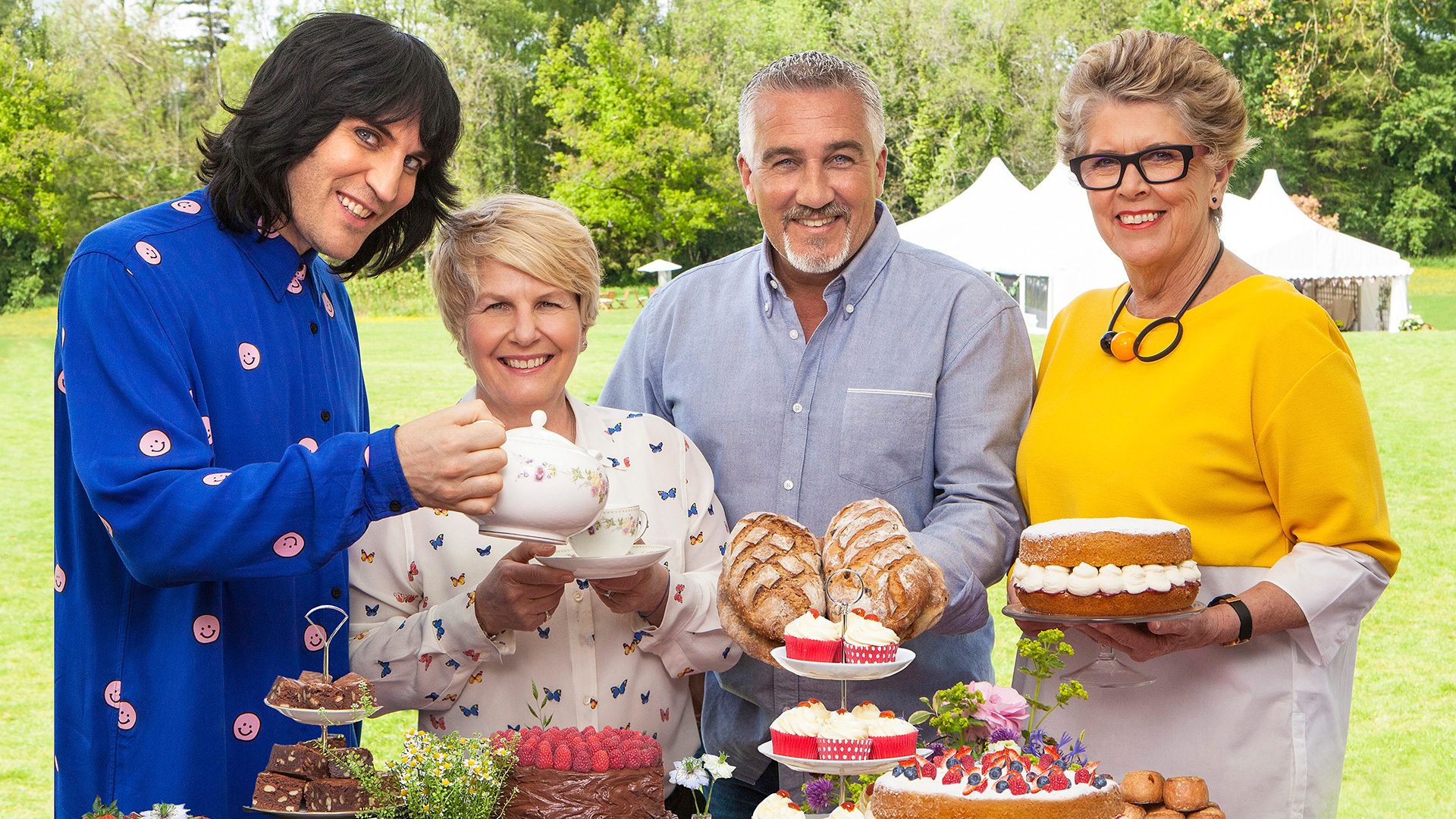 Review The Great British Bake Off Series 8 Episode 1