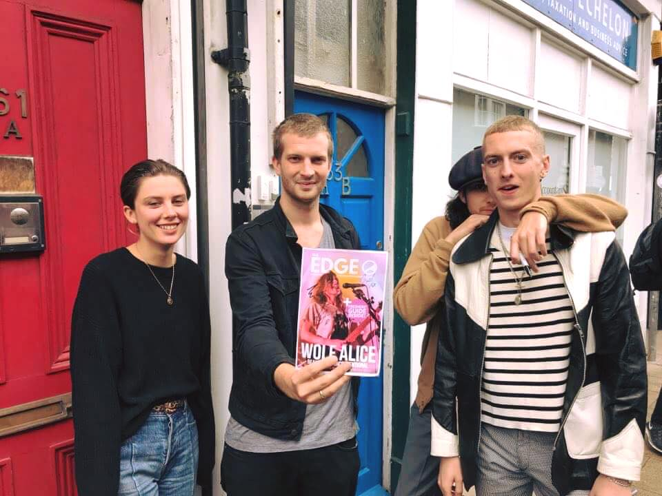 Review Wolf Alice At Pie Amp Vinyl Southsea
