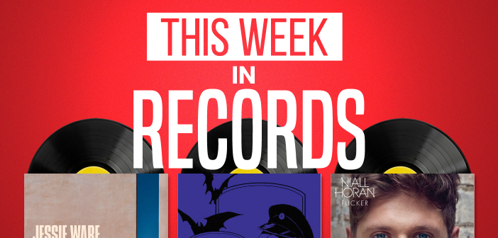 This Week in Records (20/10/17): Jessie Ware, MGMT & Niall Horan